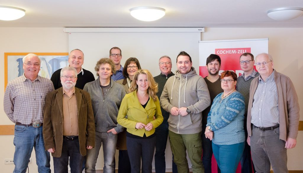 SPD-Klausurtagung Gruppenbild