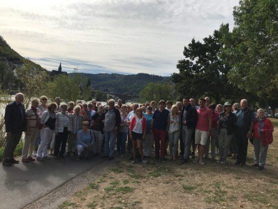 SPD Alzey zu Besuch am 09.08.2018